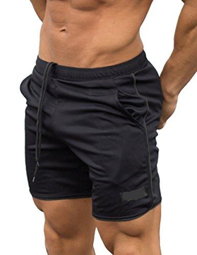 THEE Pantalones Cortos Deportivos Entrenamiento Gimnasio