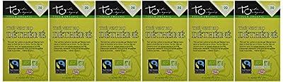 Touch Organic Thé Vert Déthéiné 20 Sachets 30 g - Pack de 6