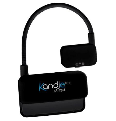 Ozeri Kandle Flex, LED Leselampe für eBook Reader, schwarz Buchlampe und Klemmlampe KAFA-B