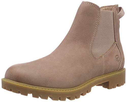 Tamaris Damen 25401-21 Chelsea Boots, Pink (Rose 521), 37 EU Chelsea Rose