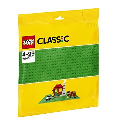 LEGO - 10700 - Classic - Jeu de Construction - La Plaque de Base Verte