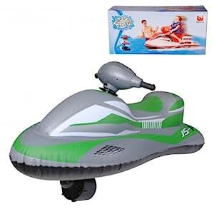jet ski scooter des mers gonflable motoris electrique pour enfant jeux et jouets. Black Bedroom Furniture Sets. Home Design Ideas