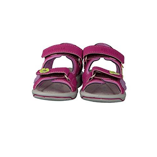Ricosta Shari, Sandales ouvertes fille pink