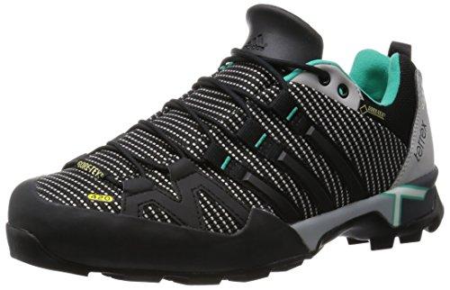 adidas Damen Terrex Scope Gtx Trekking-& Wanderhalbschuhe Grau (Mgh Solid Grey/Core Black/Shock Mint)