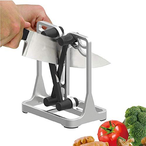 Dealswin Messerschärfer Küchen Messer Schärfer Professioneller Messerschaefer Manuelle Messerschleifer Profi Küchenmesserschärfer für alle Arten von Küchenwerkzeugen - Kitchen Knife Sharpener