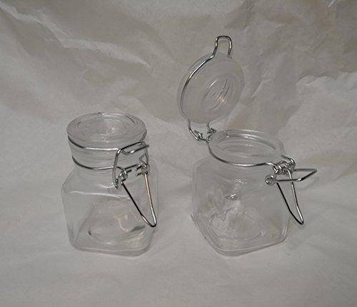 Green House - Mini barattoli di vetro con tappo a clip usato  Spedito ovunque in Italia