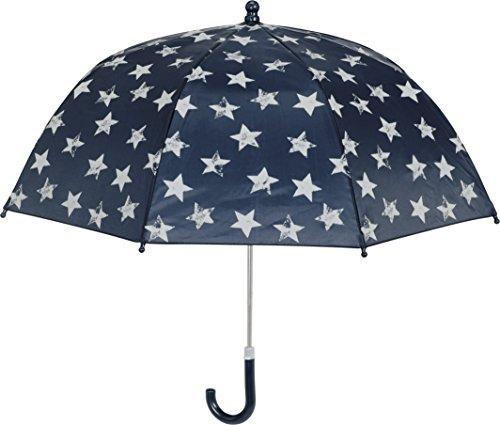 Playshoes Kinder Regenschirm Sterne Paraguas