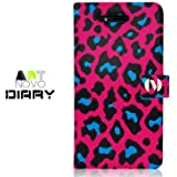 iPhone 4S / 4 Novoskins Pink Leopard Diary Case ART NOVO COLLECTION Promotion Price Free Other iP4 Case