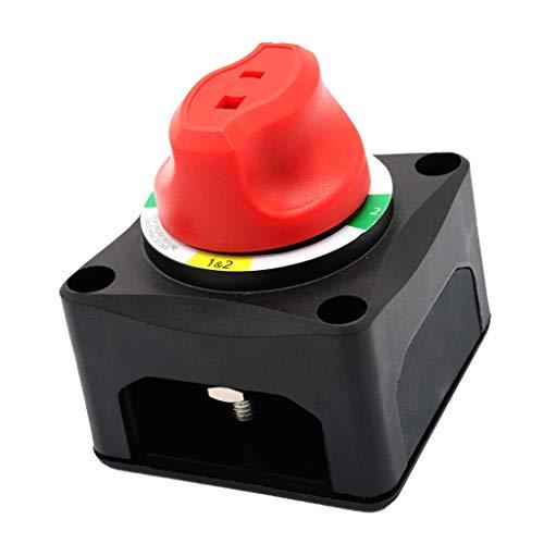 H HILABEE EIN / AUS Batterieabschaltschalter 200 AMP Isolator 4 Position Mit AFD -