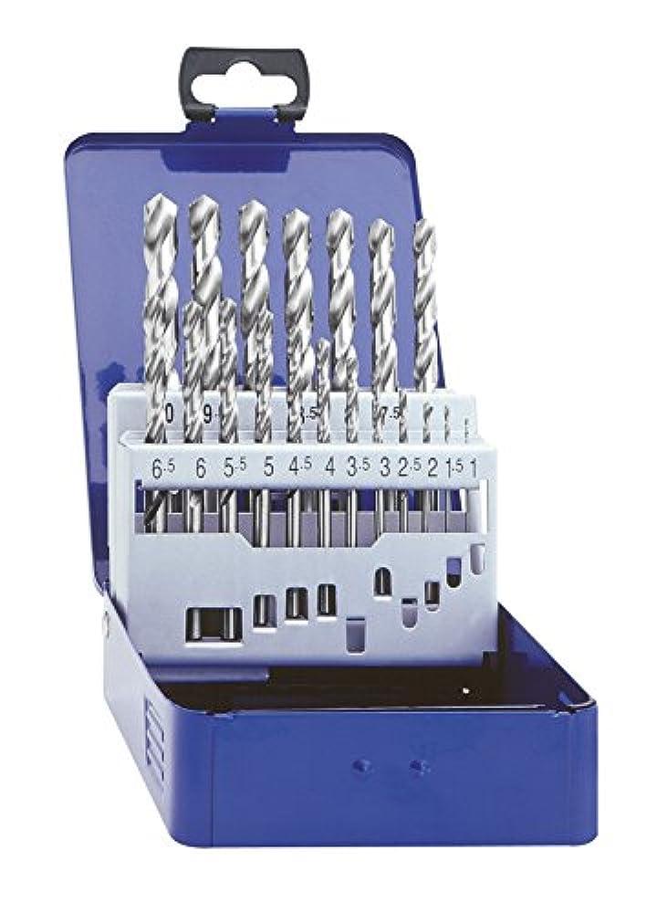 VIGOR Spiralbohrer-Satz 19 Spiralbohrer von 1-10 mm Durchmesser, zur Metallbearbeitung V1203