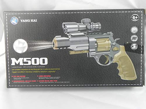 REVOLVER M500 DISPARA BOLAS DE GEL