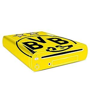 DeinDesign Skin Aufkleber Sticker Folie für Nintendo Wii U Konsole BVB Borussia Dortmund Sterne