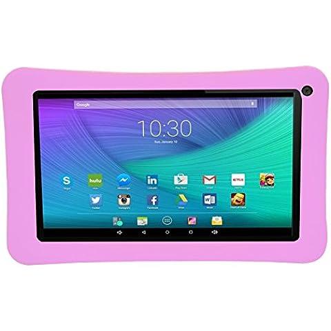 Transwon Nueva Cubierta Funda Silicona Suave para Energy Sistem Neo 2 Lite Tablet de 7'', Energy Sistem Neo 2 7'', Leotec LETAB720, Ogima 7
