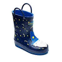 Chipmunks Boys/Girls Kids Infants/Junior Wellies Wellington Boots - Merlin Wizard