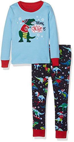 Hatley Long Sleeve Appliqué Set, Ensemble de Pyjama Garçon Hatley