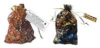MoShik's Pan Masala Flavor Dark and Milk Chocolates, 200 grams (Combo of 2 Pouches)