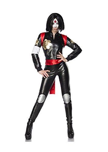 Suicide Samurai Kostümset von Mask Paradise - Harley Joker Girl Kostüm