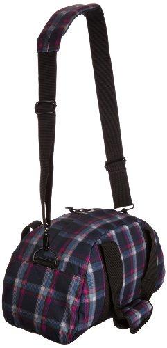 Eastpak Reisetasche COMPACT, 23 liter, 23 x 45.5 x 20 cm, Black Checked Pink