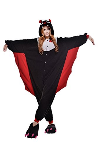 Ikerenwedding - Ensemble de pyjama - Femme Black Bat
