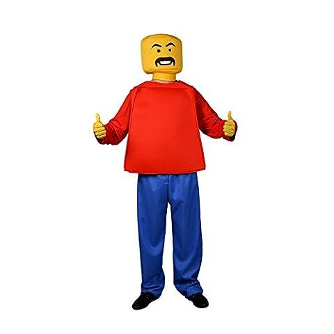 Morphsuits - MCCUOBLOK1 - MCC Mr Block Head pour Adultes