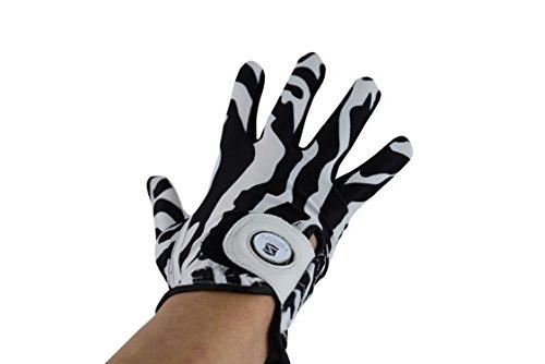Zerimar Golfhandschuh Aus Leder für Damen Golfhandschuh Linkshänder Maßnahmen: XL (Leder Linkshänder Golf Handschuh)