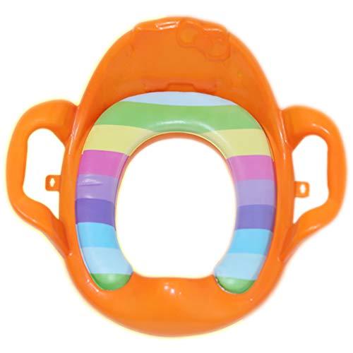 Chaise De Toilette pour Toilette Et Commode Siège De Toilette pour Enfant WC Universel Coussin Auxiliaire pour Homme Et Femme Siège De Toilette pour Bébé (38 * 40Cm)