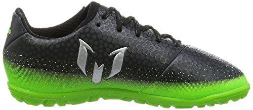 adidas Jungen Messi 16.3 Tf J Fußballschuhe Grau (Dark Grey/Silver Met./Solar Green) tvgV0t2R