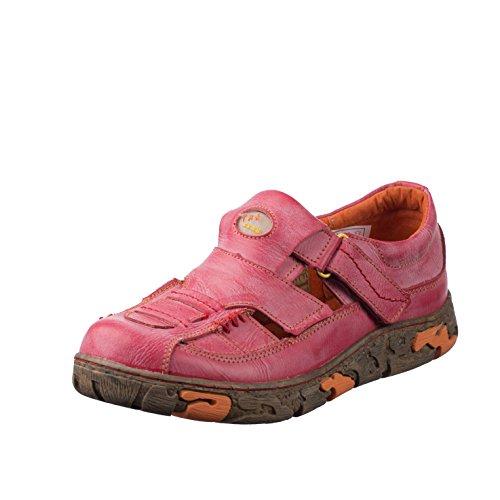 TMA EYES 7096 Sandalette Gr.36-42 mit bequemen perforiertem Fußbett , ATMUNGSAKTIV Gelb