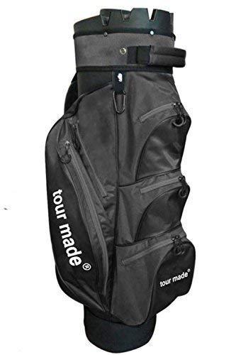 tour-made OG14 Organizer Trolleybag Cart Bag Golftasche Modell 2018 (schwarz)