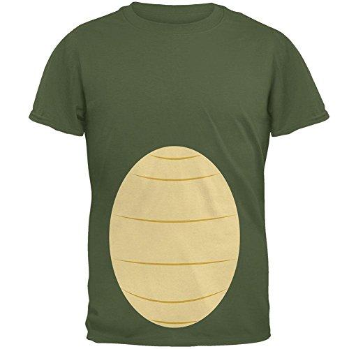 Kostüm Militär Grün SM Herren-T-Shirt (Militär Halloween Kostüme Männer)