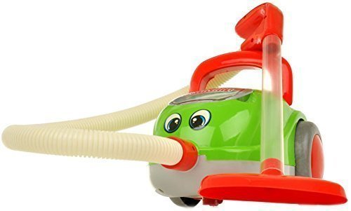 PREMIUM Kinderstaubsauger Vacuum Cleaner - Staubsauger für Kinder mit realistischen Soundeffekten und Saugfunktion - Licht und Musik - hoher Spaßfaktor