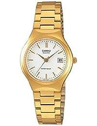 Casio LTP-1170N-7A - Reloj analógico de cuarzo para mujer, correa de acero inoxidable color dorado
