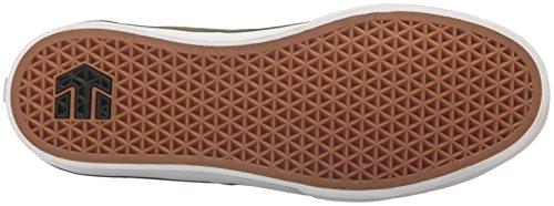 Etnies Jameson Vulc, Sneakers Basses Homme Vert (Brown)