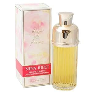 Fleur De Fleurs de Nina Ricci Pour Femme Eau de Toilette Vaporisateur 120 ml