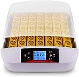 Sailnovo Brutmaschine Vollautomatisch 56 Eier Inkubator, Brutkasten Brutapparat Motorbrüter Brutgerät, Egg Incubator Geflügel Brüter Hatcher Bruteier mit Feuchtigkeits & Temperaturregelung