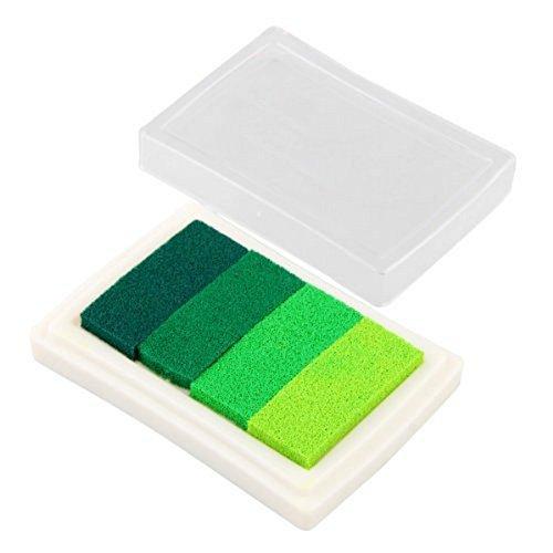 Hemore Carchet 1 Stempelkissen Set Stempelkissen Farbe: grün mit Farbwechsel Süß Halloween Weihnachten Thanksgiving Dekoration Geschenk