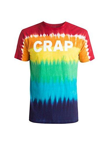 DC Crap hommes Dye T-shirt Tie, X-Large, White