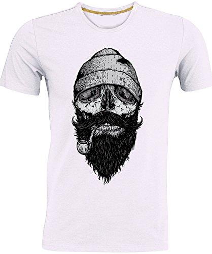 T-shirt maglietta stretch cotone girocollo da uomo t-shirtshop.com. Mod. BONE