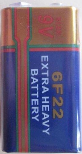 150 pcs 6F22 Bulk 9V carbon zinc Battery Compatible with 6F22 plus Hillflower Coupon