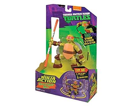 Teenage Mutant Ninja Turtles Deluxe Mikey Action Figure