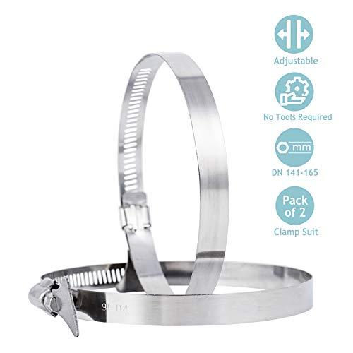 STERR 10 m Manguera flexible de aluminio 150 mm ALD150