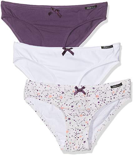Skiny Mädchen Multipack Girls Rio Slip 3er Pack Unterhose, Mehrfarbig (Star Selection 2171), (Herstellergröße: 176) (3erPack) 3 Slip