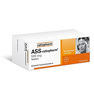 ASS-ratiopharm 500mg 100 stk