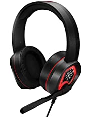 XPG EMIX H20 Wired Virtual 7.1 Surround Sound 50mm Drivers RGB Gaming Headset