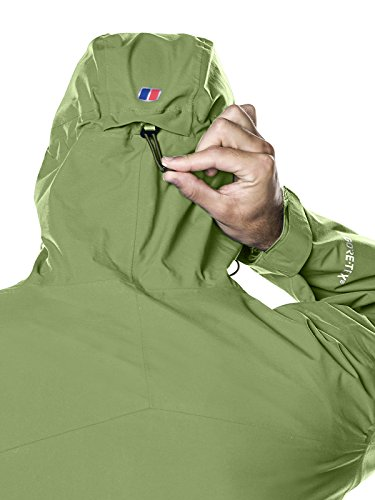 Berghaus Waterproof Ridgemaster Men's Outdoor Hooded Jacket available in Kale - Medium