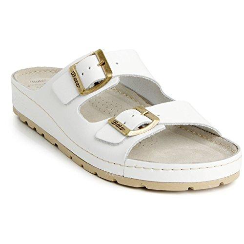 Batz ZENNA Léger et Flexible Sandales Sabots Mules Chaussons Chaussures de Qualité Supérieure en Cuir Femme