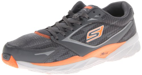 Skechers Go Run Ride 3 - Zapatillas de correr para hombre, color gris,
