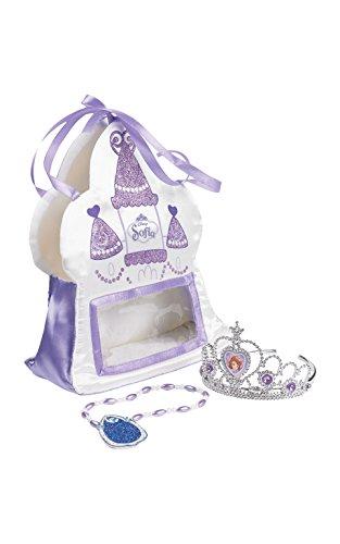 Rubie's Offizielle Sofia, die Erste-Handtasche aus Satin für Kinder, mit Diadem und Amulet Preisvergleich