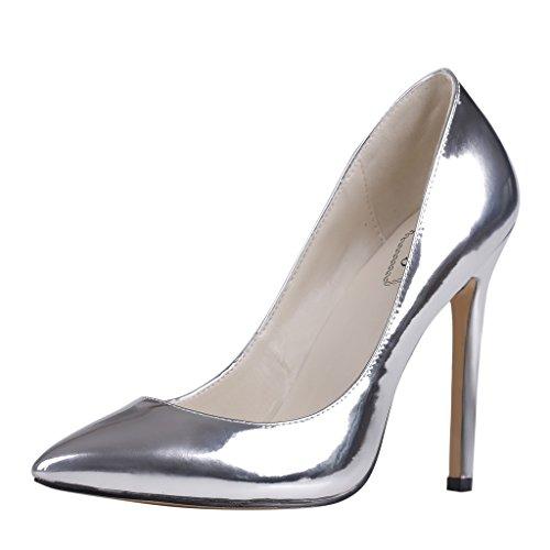 EKS - scarpe tipo décolleté con tacco alto Donna Silber-A