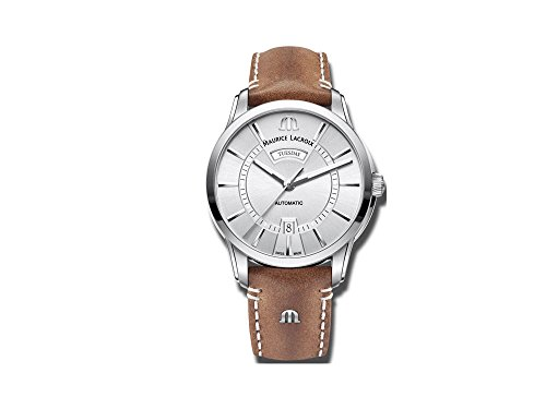 Maurice Lacroix PONTOS DAY DATE PT6358-SS001-130-2 Automatic Mens Watch Classic & Simple